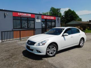 Used 2012 Infiniti G37 Luxury|LEATHER|SUNROOF|AWD for sale in St. Thomas, ON