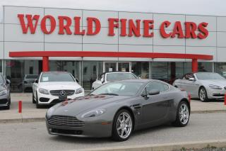 Used 2007 Aston Martin V8 Vantage | One Owner! | *6-Speed* | 380 HP! for sale in Etobicoke, ON