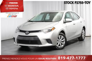 Used 2016 Toyota Corolla LE  CAM RECUL  SIÈGES CHAUFFANTS for sale in Drummondville, QC