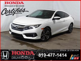 Used 2017 Honda Civic EX-T Honda Sensing+TOIT+SIEGES CHAUFF+BLUETOOTH++ for sale in Drummondville, QC