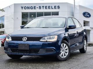 Used 2014 Volkswagen Jetta Sedan Trendline+ for sale in Thornhill, ON