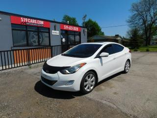 Used 2012 Hyundai Elantra Limited|NAVI|SUNROOF|LEATHER|BACKUP CAMERA for sale in St. Thomas, ON