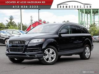 Used 2011 Audi Q7 3.0 TDI Premium DIESEL | REVERSE CAM | HEATED LEATHER | PANORAMIC ROOF for sale in Stittsville, ON