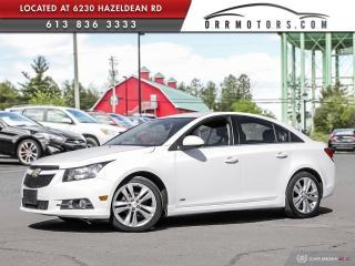 Used 2014 Chevrolet Cruze RS PKG | 2 LT for sale in Stittsville, ON