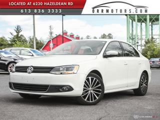 Used 2014 Volkswagen Jetta 2.0 TDI Highline DIESEL! HIGHLINE TRIM!  LOW MILEAGE! for sale in Stittsville, ON