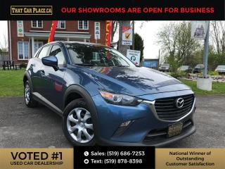 Used 2018 Mazda CX-3 GX AWD-Htd Seats-Backup-Bluetooth-Cruise for sale in London, ON