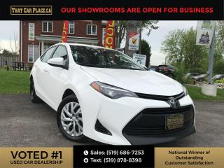 Used 2018 Toyota Corolla LE Backup-Bluetooth-Htd Seats-Cruise Control for sale in London, ON