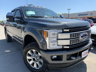 Used 2018 Ford F-250 Platinum LEATHER, NAVIGATION for sale in Midland, ON
