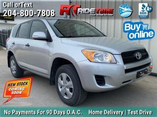 Used 2011 Toyota RAV4 BASE for sale in Winnipeg, MB
