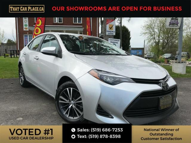 2018 Toyota Corolla LE Sunroof-Backup-Alloys-Bluetooth-No Accidents