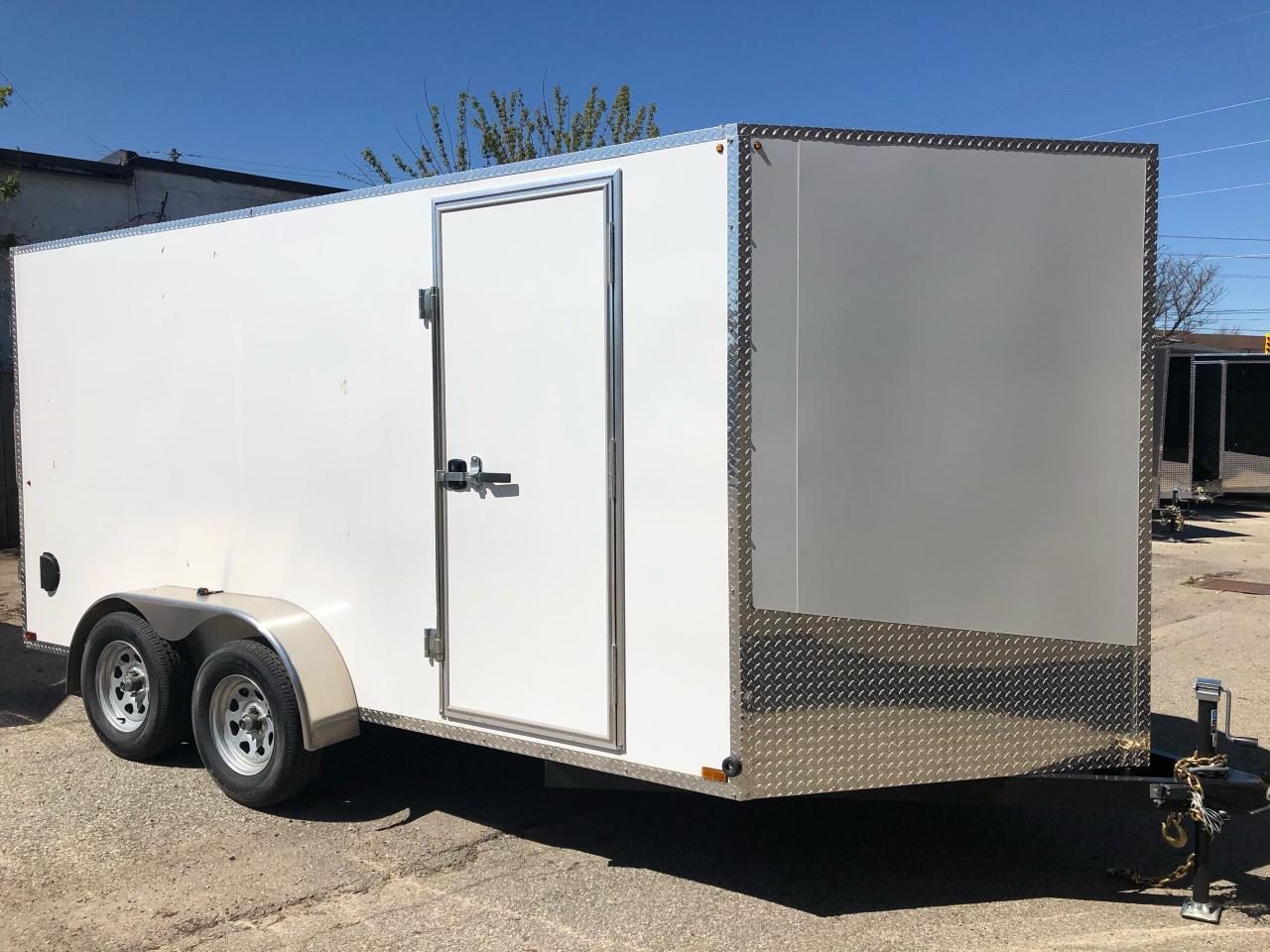 2020 Canadian Trailer Company 7x14 V Nose Cargo Trailer
