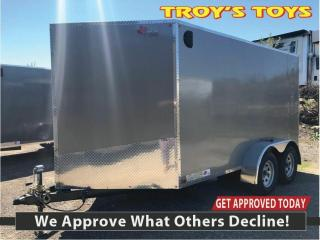 Used 2020 Canadian Trailer Company 7x12 V-Nose Cargo Trailer for sale in Guelph, ON