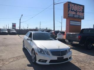 Used 2011 Mercedes-Benz E-Class E 350 4MATIC*BROWN LEATHER*ONLY 99KMS*NAVI*CAM* for sale in London, ON