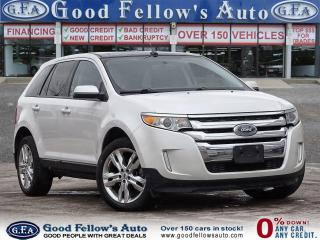 Used 2013 Ford Edge SEL MODEL, PAN ROOF, LEATHER & POWER SEATS, NAVI for sale in Toronto, ON