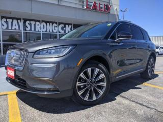 Used 2020 Lincoln Corsair Reserve *panoramic roof* heated/cooled seats* adaptive cru for sale in Chatham, ON
