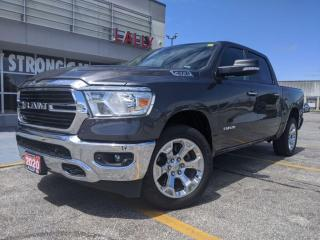 Used 2020 RAM 1500 Big Horn* 20 inch chrome rims*4X4*8.4i inch radio* for sale in Chatham, ON