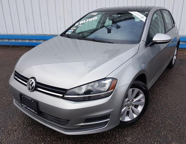 2015 Volkswagen Golf TSI Comfortline *LEATHER-SUNROOF*