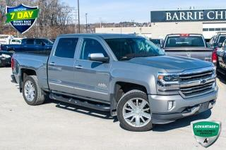 Used 2017 Chevrolet Silverado 1500 High Country for sale in Barrie, ON