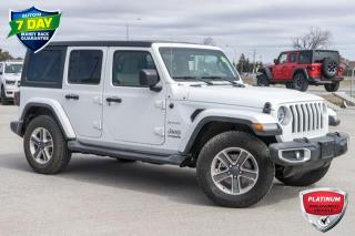 Used 2019 Jeep Wrangler Unlimited Sahara for sale in Barrie, ON