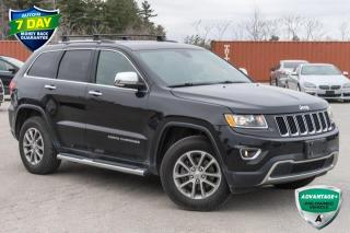 Used 2016 Jeep Grand Cherokee Limited for sale in Barrie, ON