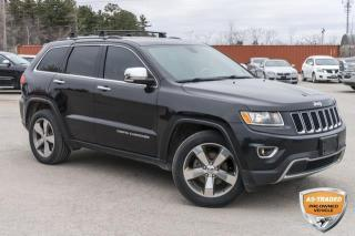 Used 2015 Jeep Grand Cherokee Limited for sale in Barrie, ON