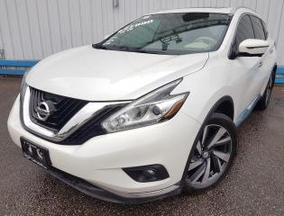 Used 2016 Nissan Murano Platinum AWD *NAVIGATION* for sale in Kitchener, ON