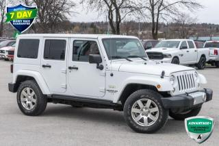 Used 2015 Jeep Wrangler Unlimited Sahara SUV for sale in Barrie, ON