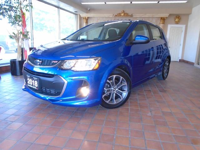 2018 Chevrolet Sonic 5dr HB Auto LT TURBO SUNROOF NO ACCIDENTLOW KM  PW