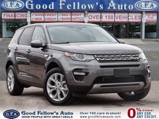 Used 2016 Land Rover Discovery Sport SPORT HSE LUXURY, 4WD, PAN ROOF, XENON HEADLIGHTS for sale in Toronto, ON