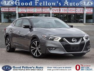 Used 2016 Nissan Maxima SL MODEL, NAVIGATION, PARKING ASSIST FRONT & REAR for sale in Toronto, ON