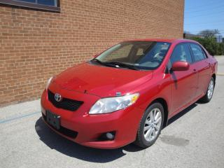 Used 2009 Toyota Corolla LE/NO ACCIDENTS for sale in Oakville, ON