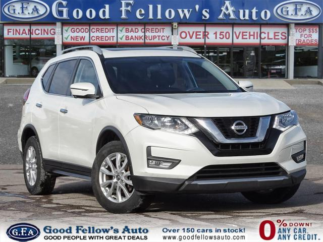 2017 Nissan Rogue SV MODEL, 2.5L 4CYL, AWD, 360 DEGREE CAMERA, NAVI