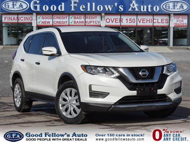 2017 Nissan Rogue S MODEL, AWD, 4CYL, REARVIEW CAMERA, HEATED SEATS