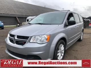 Used 2015 Dodge Grand Caravan SXT 4D Wagon 3.6L for sale in Calgary, AB