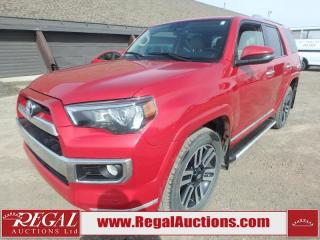 Used 2017 Toyota 4Runner Limited 4D Utility 4WD 4.0L for sale in Calgary, AB