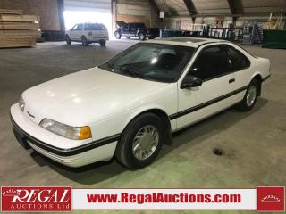 Used 1989 Ford Thunderbird 2D COUPE RWD for sale in Calgary, AB
