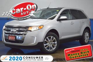 Used 2013 Ford Edge SEL AWD LEATHER PANO ROOF REAR CAM HTD SEATS for sale in Ottawa, ON