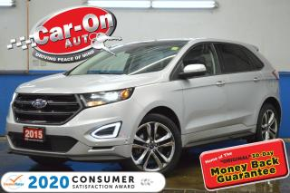 Used 2015 Ford Edge Sport AWD LEATHER NAV PANO ROOF REAR CAM LOADED for sale in Ottawa, ON