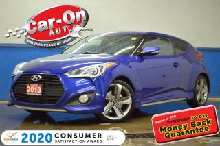 Used 2013 Hyundai Veloster Turbo LEATHER NAV PANO ROOF HTD SEATS LAODED for sale in Ottawa, ON