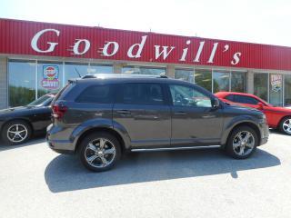Used 2016 Dodge Journey CROSSROAD! CLEAN CARPROOF! REMOTE START! NAV! for sale in Aylmer, ON