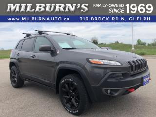 Used 2015 Jeep Cherokee Trailhawk 4X4 for sale in Guelph, ON
