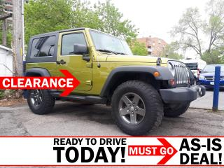 Used 2010 Jeep Wrangler Sport AS-IS for sale in Ottawa, ON