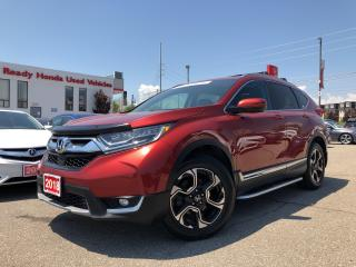 Used 2018 Honda CR-V Touring Navi - Leather - sunroof - Alloy for sale in Mississauga, ON