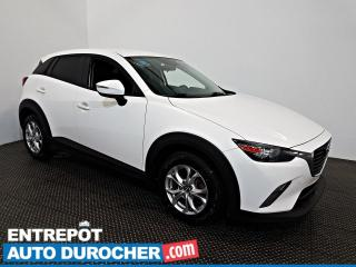 Used 2016 Mazda CX-3 GS AWD AIR CLIMATISÉ - Caméra de Recul for sale in Laval, QC