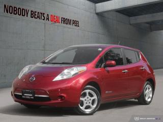 Used 2015 Nissan Leaf SV Navigation, Dual Charge Ports, Chademo, EV for sale in Mississauga, ON