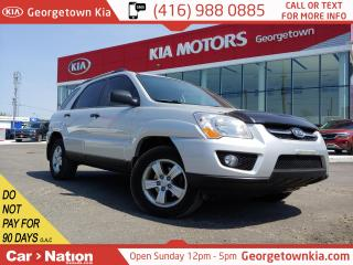 Used 2009 Kia Sportage LX | AWD | ACCIDENT-FREE | V6 | LEATHER | ROOF | for sale in Georgetown, ON