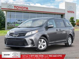 New 2020 Toyota SIENNA LE FWD 8-PASS LE for sale in Whitby, ON