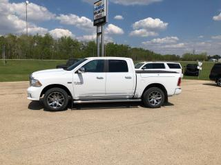 Used 2017 RAM 1500 Limited for sale in Roblin, MB