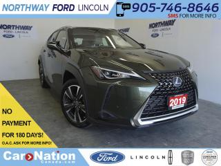 Used 2019 Lexus UX UX 250h | HYBRID | LEATHER | SUNROOF | NAV | AWD for sale in Brantford, ON