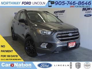 Used 2018 Ford Escape SE | LEATHERETTE | TOUCHSCREEN | SPORT PACKAGE for sale in Brantford, ON